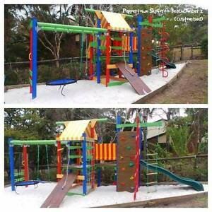SKYFORT Backyard playground, fort, cubby, wooden Virginia Brisbane North East Preview