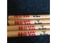 Vic Firth Nova 2B Drum Sticks (2x Pairs)