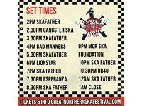 6 Ska Festival ticket's (half price)