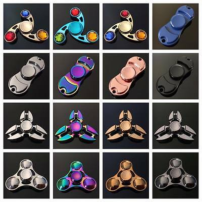 BUY ONE GET ONE FREE!!  Fidget Hand Spinner Finger Cube Toy Metal Stress Relief - Buy One Get One