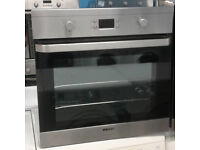 a652 stainless steel beko single electric oven comes with warranty can be delivered or collected