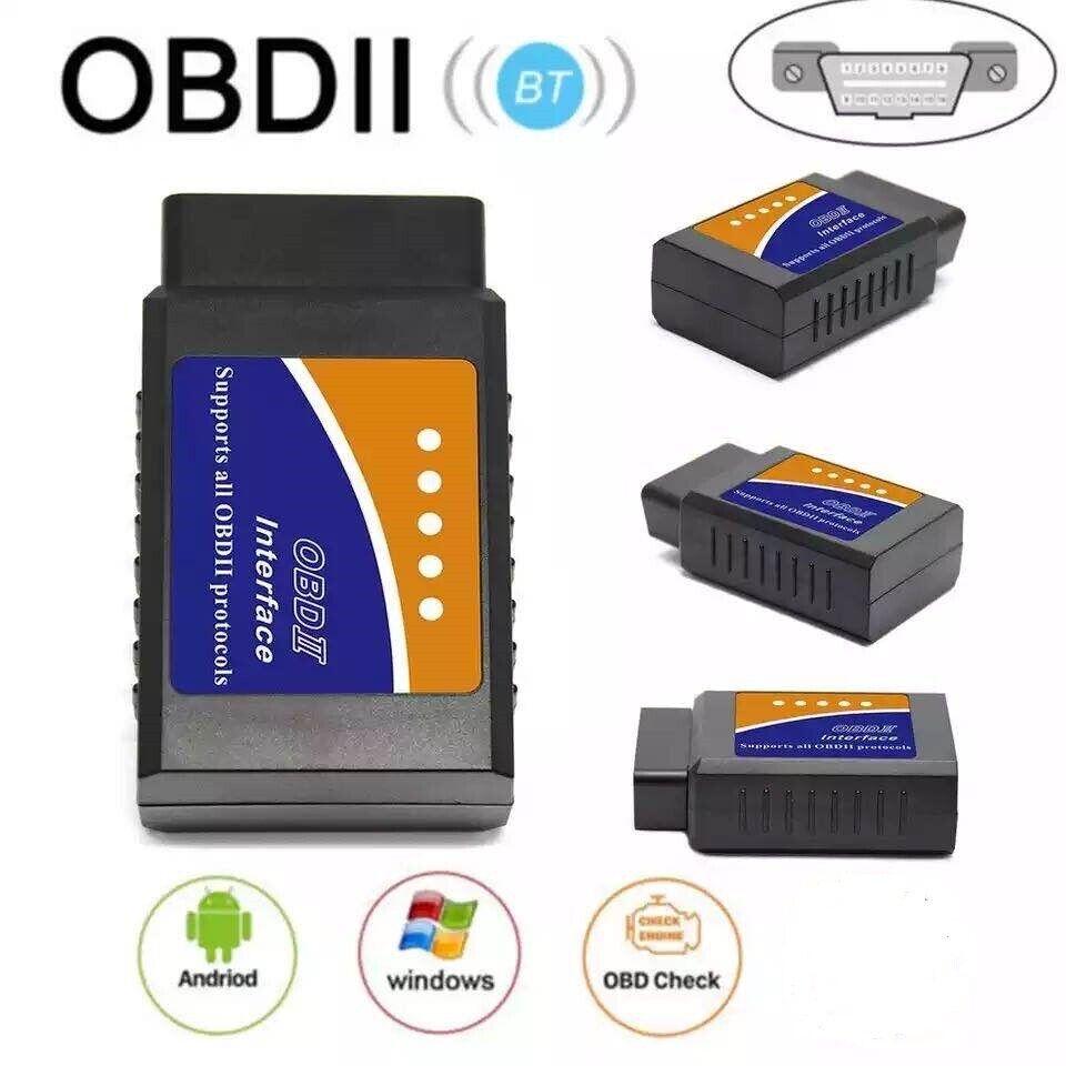 ELM327 Bluetooth OBD2 OBDII Car Diagnostic Scanner Code Reader Tool Automotive Tools & Supplies