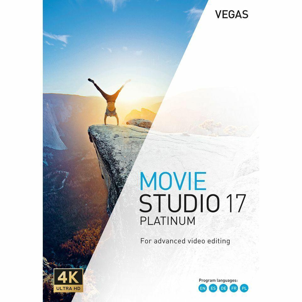 MAGIX VEGAS Movie Studio Platinum 17 Full????lifetime✔️ Fast DELVRY????????Windows 64x