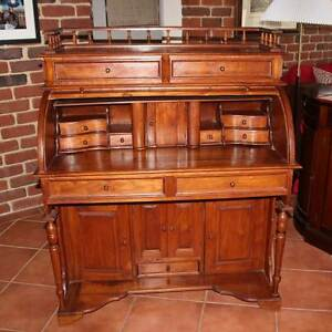 Roll Top Writing Desk South Perth South Perth Area Preview