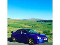Subaru Impreza wrx sti type uk turbo 333 BHP FSH