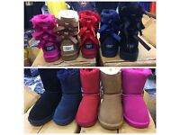 Ugg boots with bows