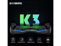 Koowheel K3 6.5 inch Bluetooth/Built in Speakers Hoverboard - Samsung Battery - free carry bag