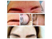 Semi permanent eyebrows ( microblading)