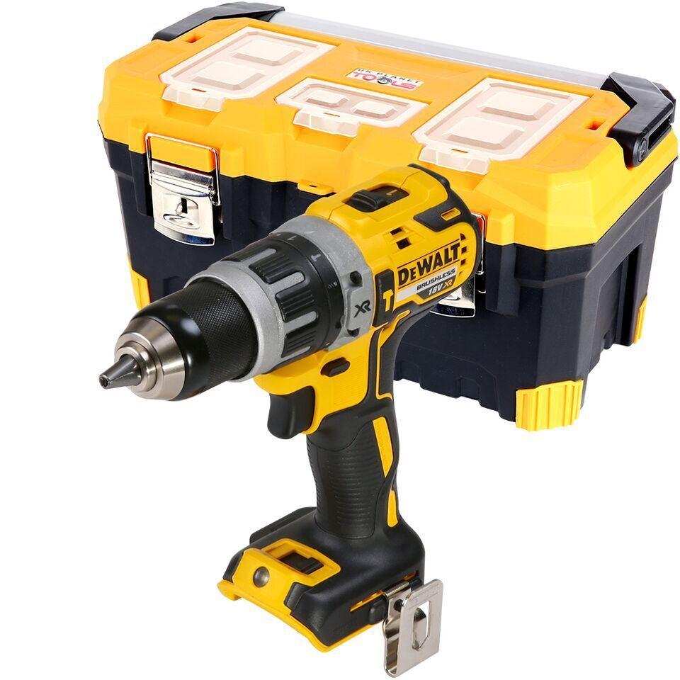Tstak DCD796NT Dewalt DCD796N 18v XR Brushless Compact Combi Hammer Drill Bare