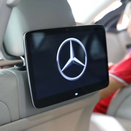 Mercedes Benz Android 9.0 Car Headrest DVD Monitor With Rear Seat Entertainment