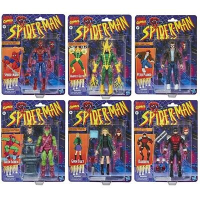 Spider-Man Retro Marvel Legends 6-Inch Action Figures Wave 1 New In Stock