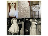 True Bride T Length Wedding Dress - Size 12
