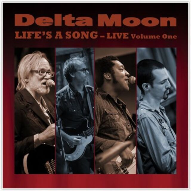 CD Delta Moon Life`s A Song Live Volume One