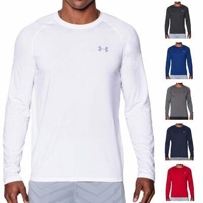Under Armour 2020 UA HeatGear Tech Long Sleeve Training Gym Sports T-Shirt