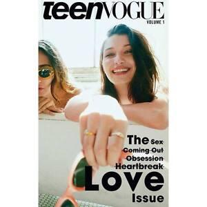 TEEN VOGUE Magazine Bella Hadid & Jesse Jo Stark Daniel Jackson Taylor Hill NEW
