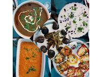 Indian food delivered to your door - small parties (now taking orders for Xmas parties)
