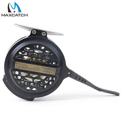 Maxcatch Automatic Fly Fishing Reel CNC-Machined Aluminum Body Super Light