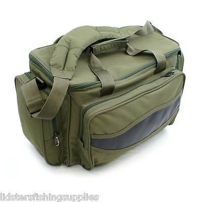 Brand New Green Carp Coarse Fishing Tackle Bag Holdall Quality NGT Bag 909