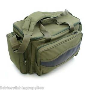 Brand-New-Green-Carp-Coarse-Fishing-Tackle-Bag-Holdall-Quality-NGT-Bag-909
