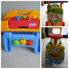 Baby to toddler toys