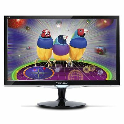 "شاشة ليد مستعمل ViewSonic VX2452mh Blk 24"" HDMI Widescreen LED Backlight LCD Monitor Full HD 2ms"