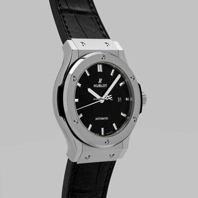 Hublot Classic Fusion Black Automatic 42mm titanium men's Watch 542.NX.1171.LR