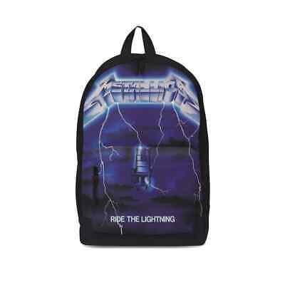 Rocksax Metallica Ride The Tormenta Eléctrica Música Escuela Mochila RSMETRTL01