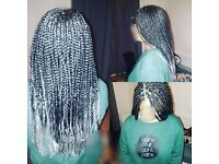 Christmas Box Braids, Faux Loc's and Senegalese Twists £50