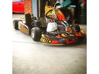 Senior rotax max Wright kart