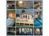 6 berth static caravan is set in the heart of the Cotswolds, overlooking a lovely grassed area