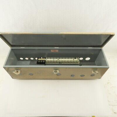 Hoffman 24x6x6 Electrical Enclosure Junction Box Wiring Trough