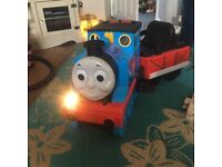 Ride on Thomas the tank with light and sounds