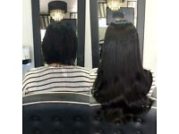 Mobile Hairdresser Based in Essex & London - LA Weaves, Tape, Micro, Nano Extensions & More!