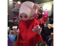 Peppa Pig Mascot Costume Hire