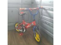 "Sonic Kap-Pow 12"" Kids Bike"
