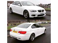 "2011 BMW 3 SERIES 318i SPORT PLUS 19"" FULL LEATHER SAT NAV COUPE 12 MONTHS MOT"