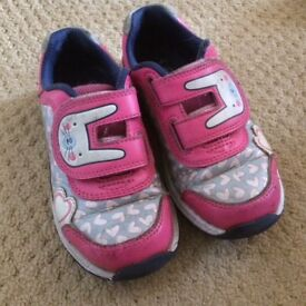 Girls Trainers size 8.5H