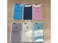 Genuine apple iphone 6/6s silicone cases
