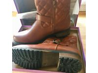 Brand new fur lined boots