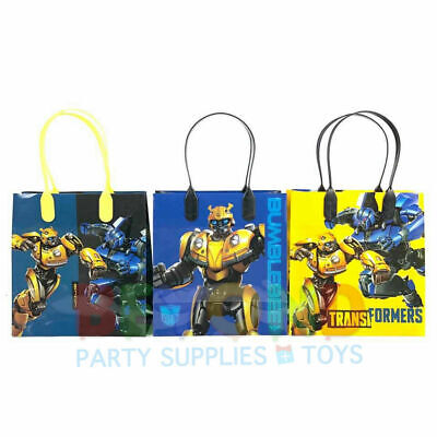 Transformers Birthday Goody Gift Loot Favor Bags Party Supplies Goodie Treat - Transformer Birthday Party Supplies