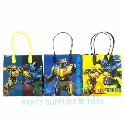 Transformers Birthday Goody Gift Loot Favor Bags Party Supplies Goodie Treat Box - Transformers Birthday