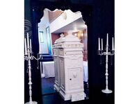 Hire* Rustic Style Tall White Wedding Postbox - £25 - Manchester