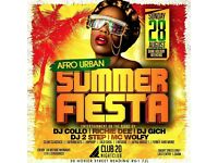 SUMMER FIESTA EVENT IN CLUB 20 READING RG1 7JL