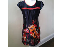 Black smock dress Yumi UK size 10