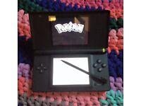 Nintendo DS lite black + Super Marios Bros