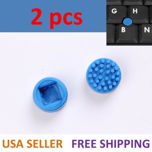 Dell/HP Laptop Trackpoint Mouse Blue Stick Point Cap Nipple (2 per lot)