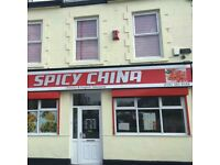 SPICY CHINA - SHINEY ROW (BRAND NEW CHINESE TAKEAWAY DH4 4QT)
