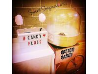 Candyfloss, Popcorn Machine Hire, Chocolate Fountain, candy floss, photo booth, slush, Sweet cart
