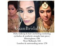 Asian Bridal Makeup & Hair Artist / MUA for guest & Bridesmaids - Makeup Artist covering London