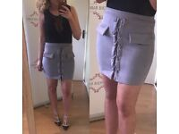 lace up skirts